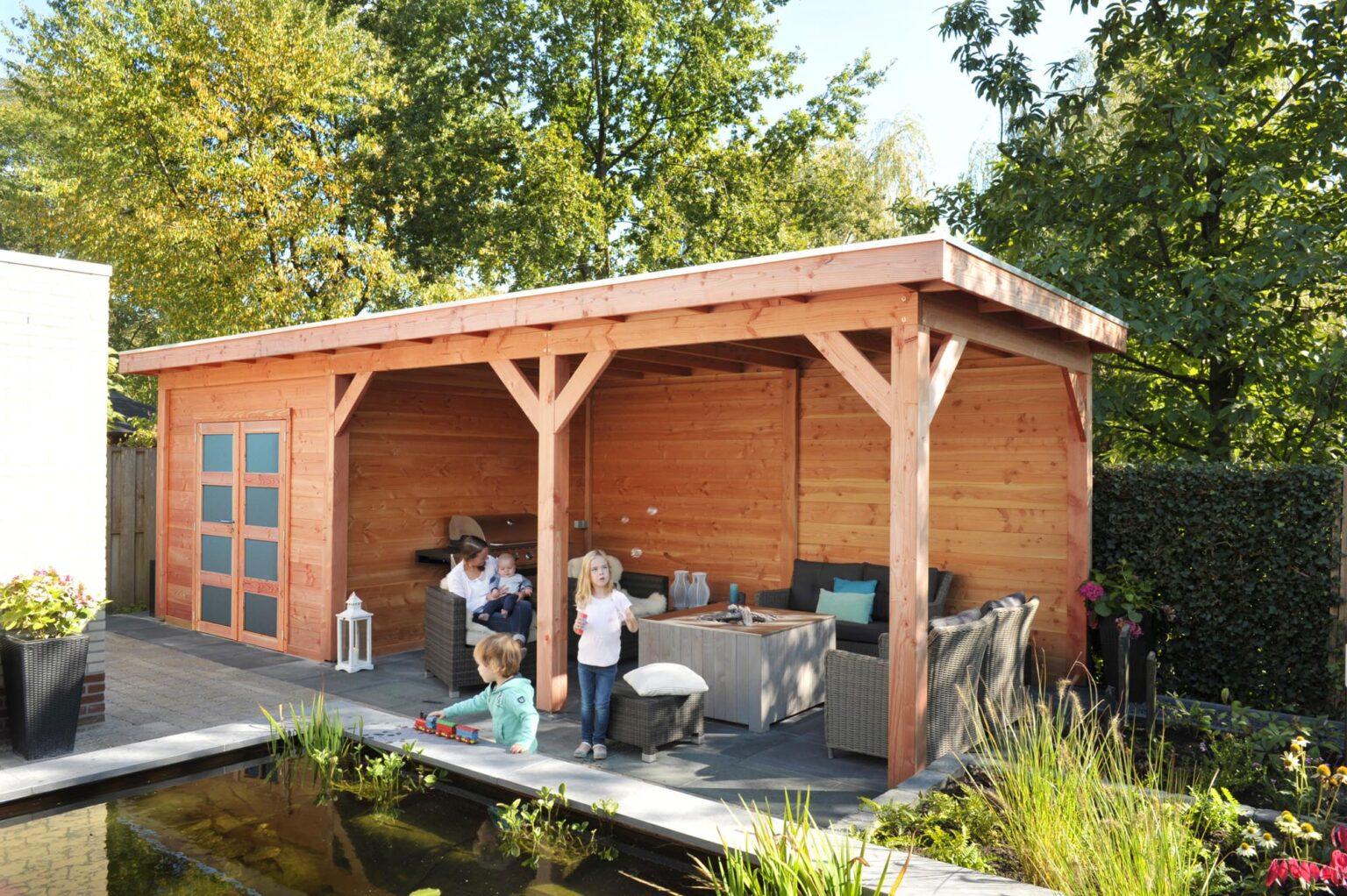 Douglas Topvision tuinhuizen Premium
