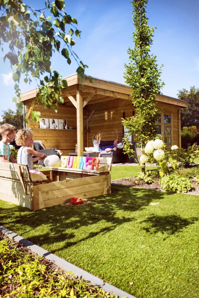 Vuren Topvision tuinhuizen premium