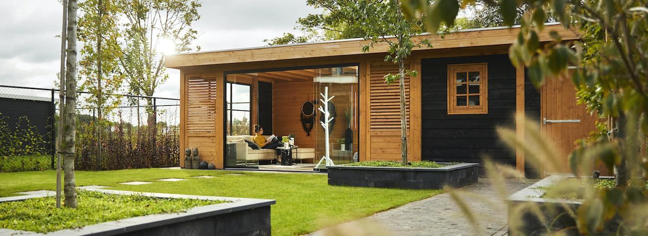Een luxe buitenverblijf in je eigen (stads)tuin